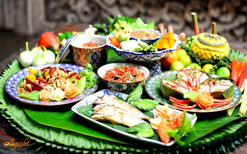 Foods in Thailand