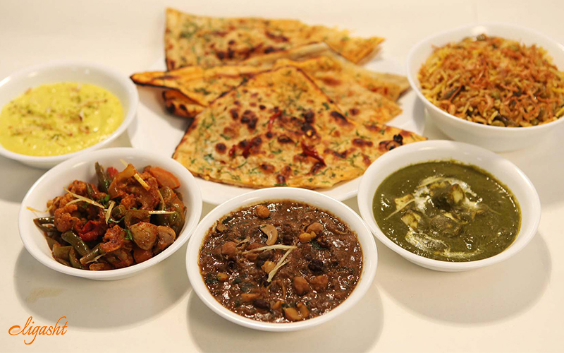 A reason to visit India is food