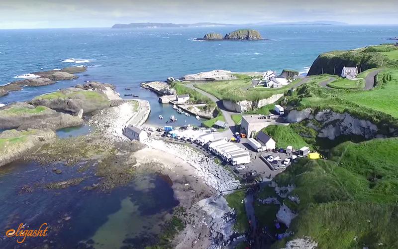 Ballintoy- GOT locations in Ireland