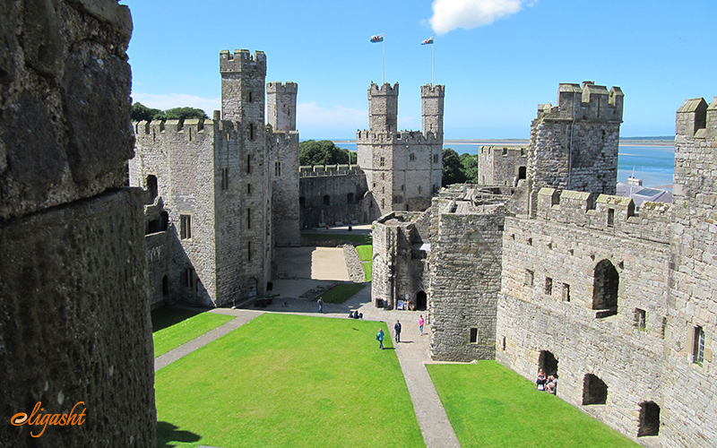 Carmarthen Castle, one day trips from Cardiff