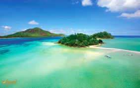 Seychelles island of Mahe
