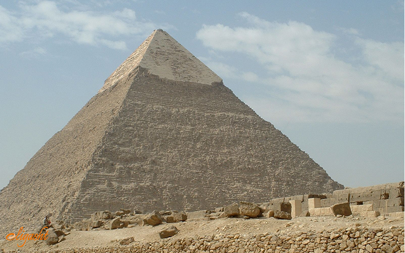 Khafre Pyramid in Giza