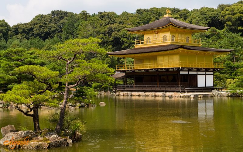 Kinkaku-ji, one of Kyoto tourist attractions