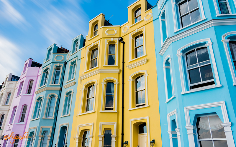 Tenby houses