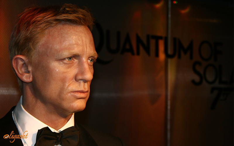 James Bond in Madame Tussauds