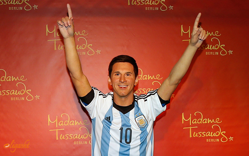 Lionel Messi in Madam Tussauds
