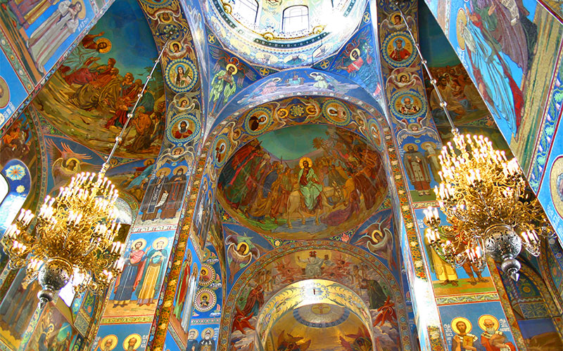 1-Interior-of-the-Church-of-the-Savior-on-Spilled-Blood-in-St.-Petersburg