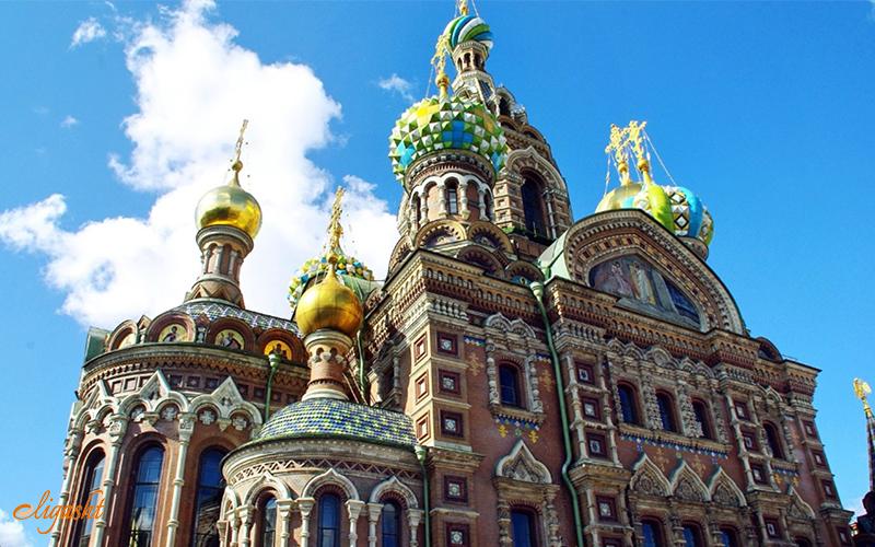 Saint Petersburg cathedral