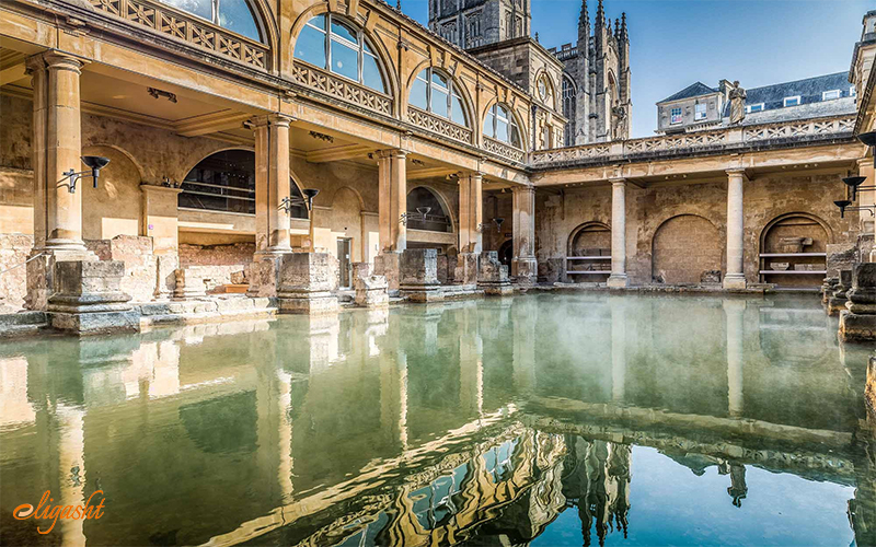 Bath in UK