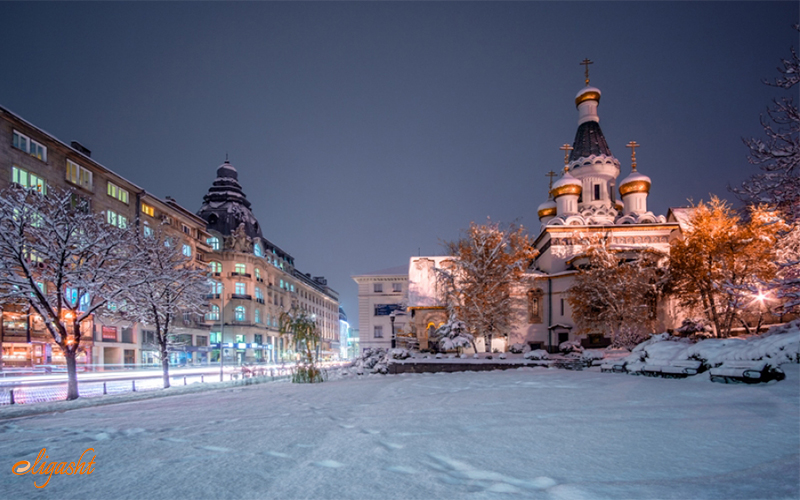 Sofia in Winter
