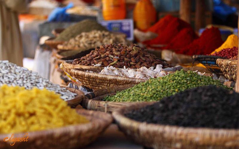 colorful market of Casablanca