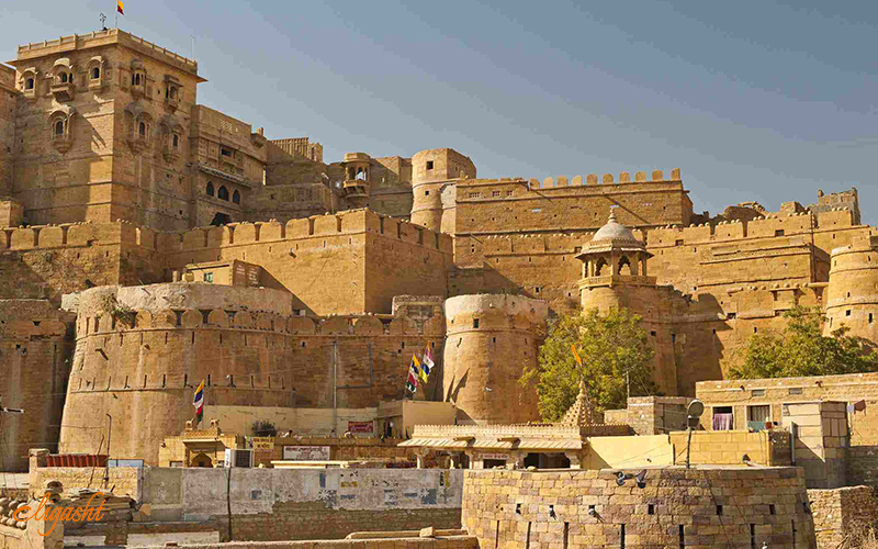 Amazing Jaisalmer Fort in Rajasthan