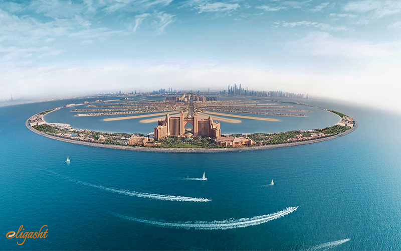 Atlantis the Palm resembles the mythical Atlantis