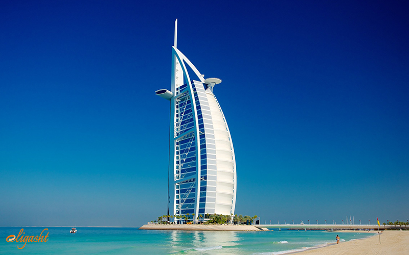 Burj al Arab is the most luxurious hotel in the world