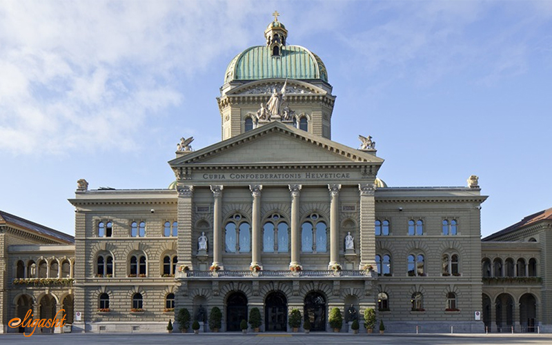 Majestic Bundeshaus in Bern