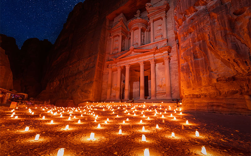Petra-by-night-show
