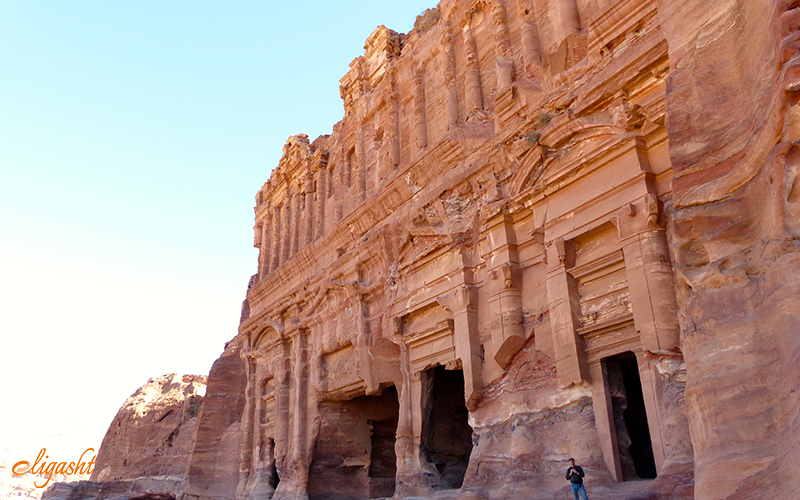 Royal Tombs are one of the main attractions in Petra