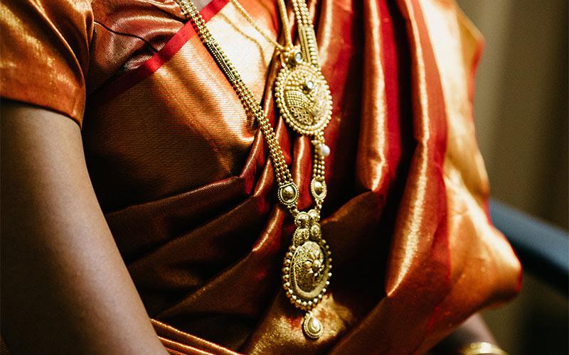 Silk-Sari