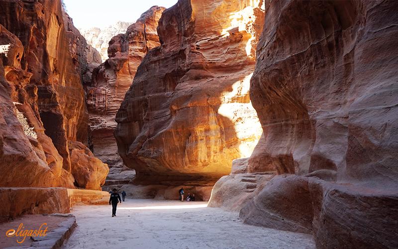 Siq in Petra