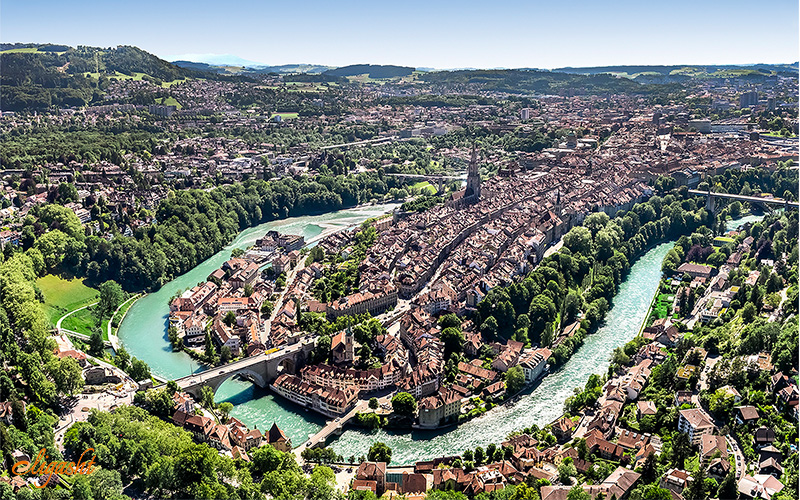 old town or Altstadt in Bern