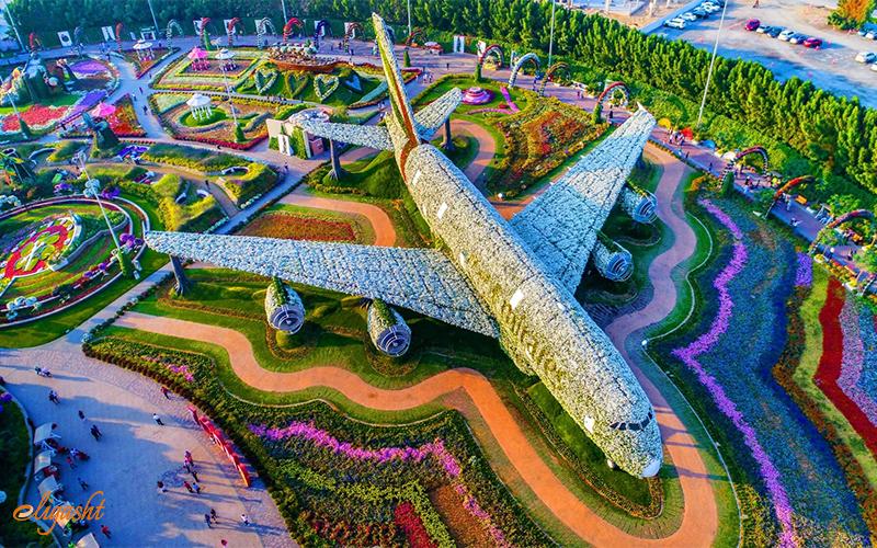 scenic Dubai Miracle Garden