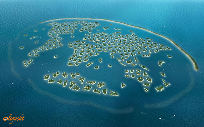 world islands a famous attraction in Dubai