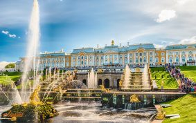 Peterhof Palace in St Petersburg