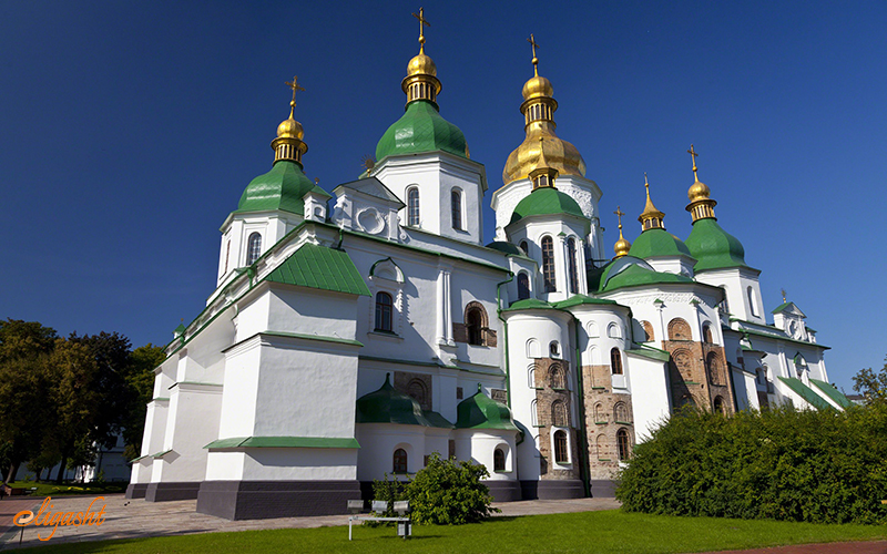 Saint Sophia's Cathedral in Kiev