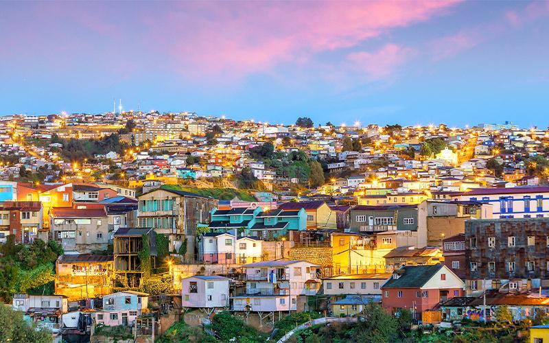 The-historic-quarter-of-Valparaiso